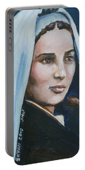 Saint Bernadette Soubirous Portable Battery Charger
