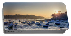 Portable Battery Charger featuring the photograph Saint Briac by Delphimages Photo Creations