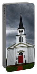 Portable Battery Charger featuring the photograph Saint James Episcopal Church 002 by George Bostian