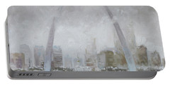 Saint Louis Winter Day Portable Battery Charger