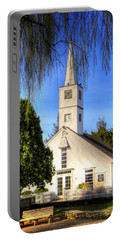Portable Battery Charger featuring the photograph Saint Mathais Angelican Church by Tom Prendergast