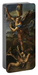 Saint Michael Defeats Satan Portable Battery Charger