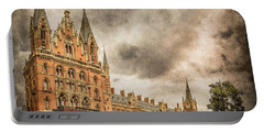 London, England - Saint Pancras Station Portable Battery Charger