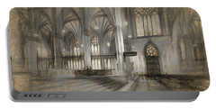 Saint Patrick's Cathedral In New York City Portable Battery Charger