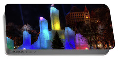 Saint Paul Winter Carnival Ice Palace 2018 Lighting Up The Town Portable Battery Charger