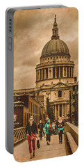 London, England - Saint Paul's In The City Portable Battery Charger