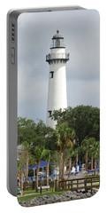 Saint Simons Island Light Portable Battery Charger