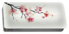 Sakura Branch Portable Battery Charger