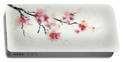 Sakura Branch Portable Battery Charger