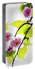 Portable Battery Charger featuring the photograph Sakura by Jessica Manelis
