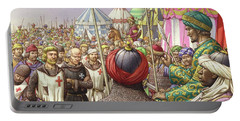 Saladin Orders The Execution Of Knights Templars And Hospitallers  Portable Battery Charger