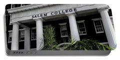 Portable Battery Charger featuring the photograph Salem College by Jessica Brawley