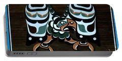 Portable Battery Charger featuring the photograph Salish Painting by 'REA' Gallery