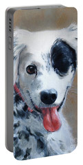 Sally Portable Battery Charger by Diane Daigle