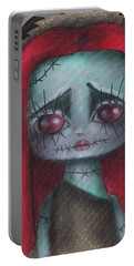 Sally Girl Portable Battery Charger by Abril Andrade Griffith