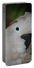 Salmon Crested Cockatoo Portable Battery Charger by Sharon Mau