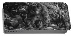 Salmon Seeker Black Bear  Portable Battery Charger
