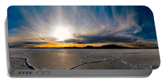 Salt Flats Sunset Portable Battery Charger