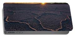 Salt Flats Sunset Portable Battery Charger