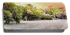 Salt Marsh Panorama Portable Battery Charger