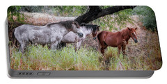 Salt River Wild Horses Portable Battery Charger