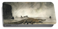 Saltwater Crocodile Portable Battery Charger