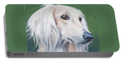 Saluki Sighthound Portable Battery Charger