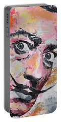 Salvador Dali Portable Battery Charger by Richard Day