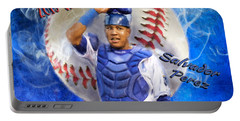 Salvador Perez 2015 World Series Mvp Portable Battery Charger