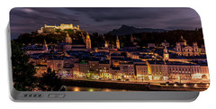 Portable Battery Charger featuring the photograph Salzburg Austria by David Morefield