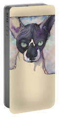Sam The Sphynx Portable Battery Charger
