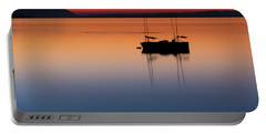Samish Sea Sunset Portable Battery Charger