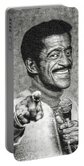 Sammy Davis Jr - Entertainer Portable Battery Charger