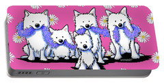 Sams And Westie Portable Battery Charger