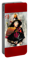 Samurai 1898 With Iron Fan Portable Battery Charger