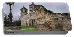 San Antonio Mission Nuestra Senora De La Purisma Concepcion De Acuna Portable Battery Charger