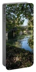 San Antonio River Stroll Portable Battery Charger