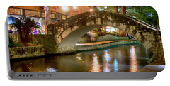 San Antonio River Walk V1 Portable Battery Charger