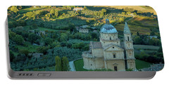 Portable Battery Charger featuring the photograph San Biagio Church by Brian Jannsen