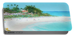 San Clemente Beach Panorama Portable Battery Charger