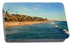 Portable Battery Charger featuring the photograph San Clemente Coastline - California by Glenn McCarthy Art and Photography