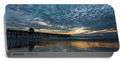 San Clemente Pier Sunset Portable Battery Charger