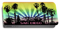 San Diego - Balboa Park Silhouette Portable Battery Charger