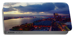 San Diego By Night Portable Battery Charger by Glenn McCarthy Art and Photography