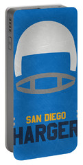 San Diego Chargers Vintage Art Portable Battery Charger