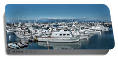 Portable Battery Charger featuring the photograph  San Diego Marina And City Skyline by Daniel Hebard