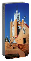 San Felipe De Neri Church, Albuquerque, New Mexico Portable Battery Charger