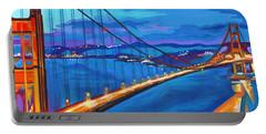 San Francisco Bay Blues  Portable Battery Charger