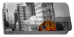 San Francisco - Red Cable Car Portable Battery Charger