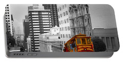 San Francisco Cable Car - Highlight Photo Portable Battery Charger